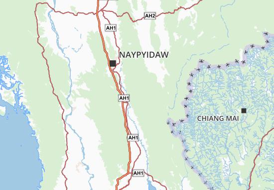 Myanma Naingngandaw Map