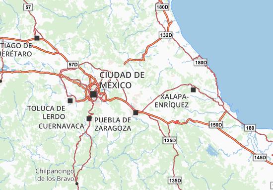 Carte-Plan Tlaxcala