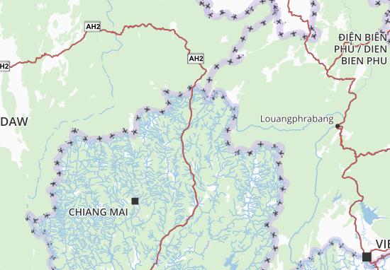 Carte-Plan Chiang Rai
