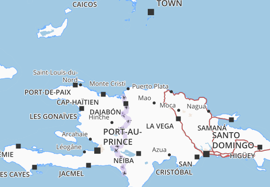 Mapas-Planos Monte Cristi
