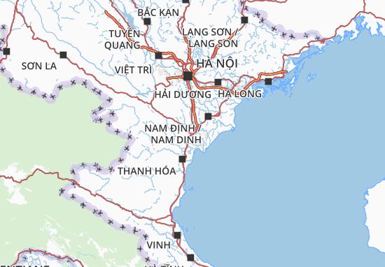 Carte-Plan Ninh Bình