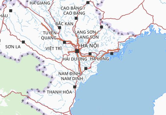 Mapas-Planos Hưng Yên