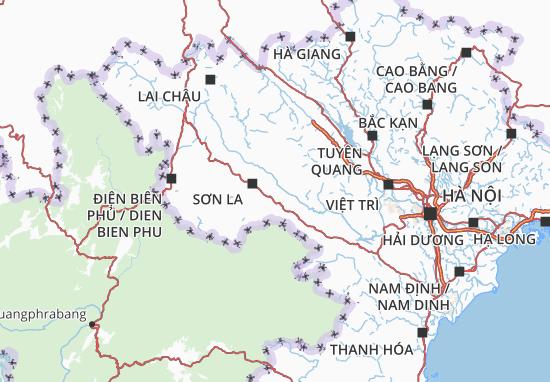 Mapas-Planos Sơn La