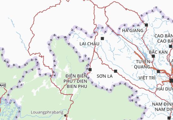 Điện Biên Map
