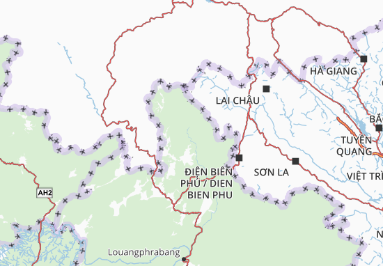 Carte-Plan Phongsali