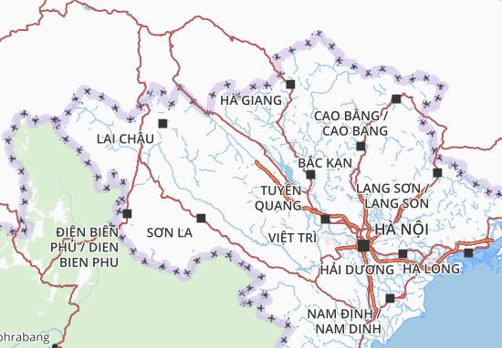 Yên Bái Map