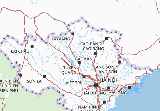 Carte-Plan Tuyên Quang