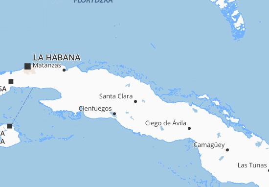 Carte-Plan Villa Clara