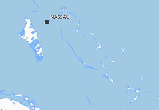 Carte-Plan Bahamas