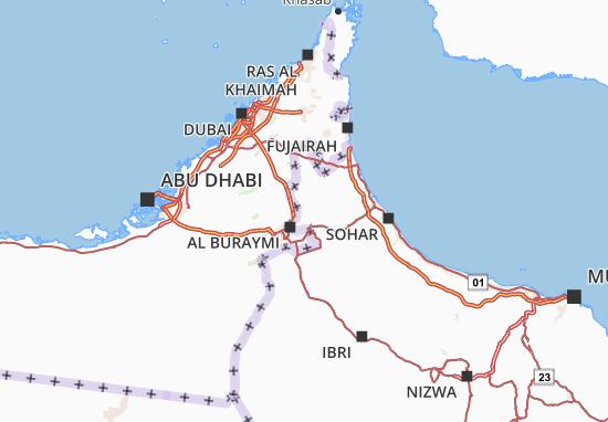 Carte-Plan Al Buraymi