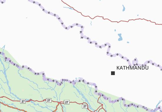 Carte-Plan Nepal