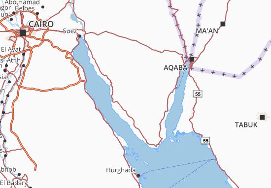 Carte-Plan South Sinai