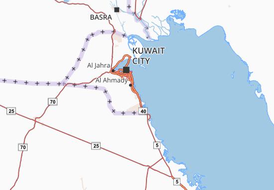Al Ahmady Map