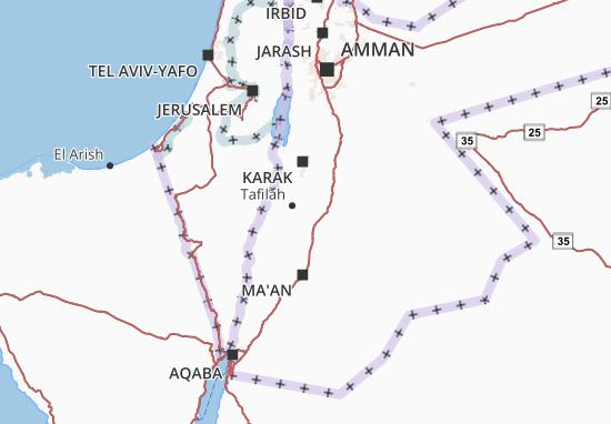 Tafilah Map