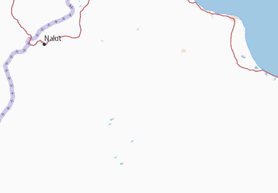 Carte-Plan Al Jabal al Gharbi