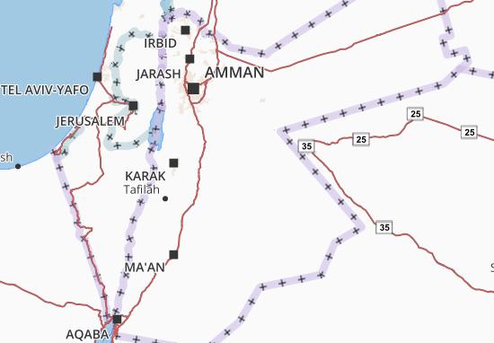 Al-ʿUrdunn Map