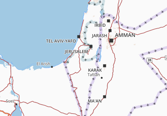 Carte-Plan Yisra'el