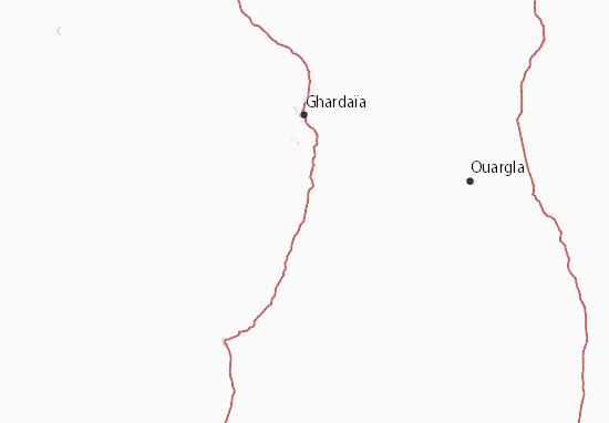 Carte-Plan Ghardaia