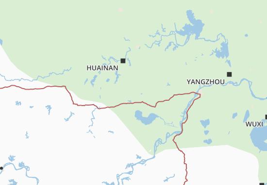 Anhui Map