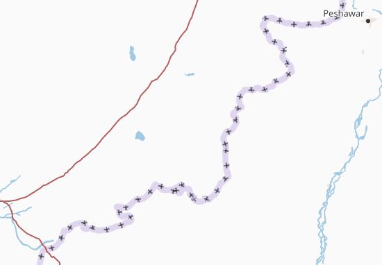 Kaart Plattegrond Paktika