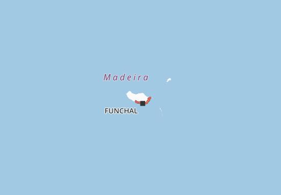 Madeira Cartina.Mappa Ilha Da Madeira Cartina Ilha Da Madeira Viamichelin
