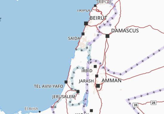 Kaart Plattegrond Hazafon
