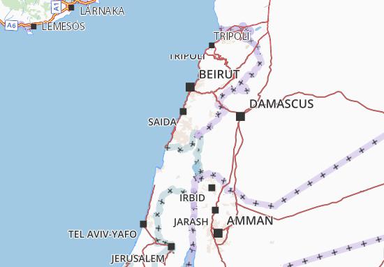 Nabatiye Map