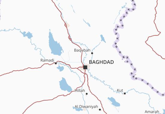 Karte Stadtplan Êraq