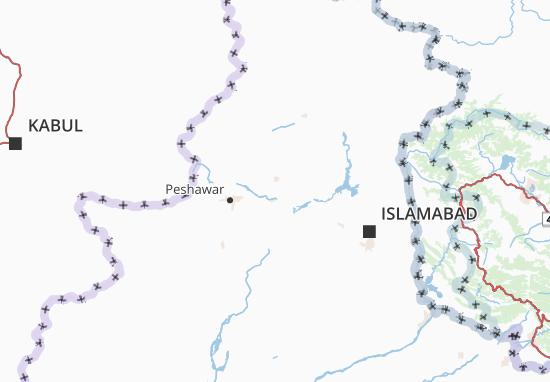 Carte-Plan North-west Frontier