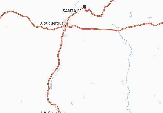 Carte-Plan New Mexico