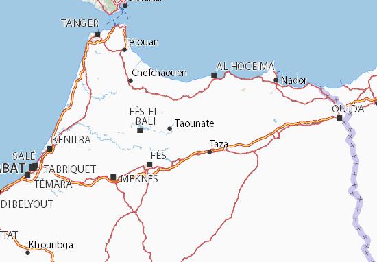 Cartina Politica Del Marocco.Chefchaouen La Citta Blu Del Marocco Nel Delirio Non Ero Mai Sola