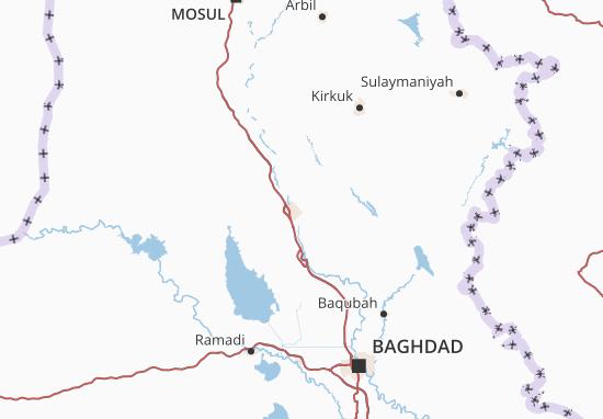 Salah ad Din Map