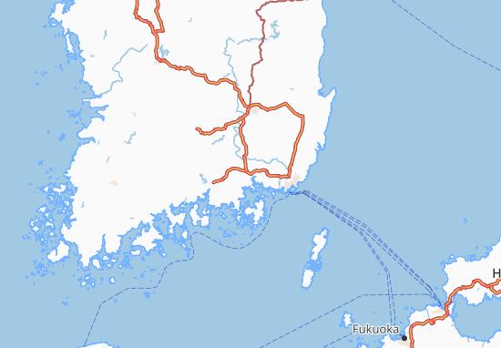 Mappe-Piantine Kyongsang-Namdo