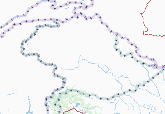 Carte-Plan Northern Areas