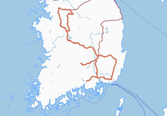 Mappe-Piantine Han'guk