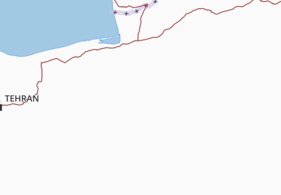 Semnan Map