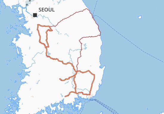 Mappe-Piantine Kyongsang-Bukto