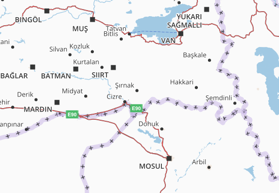 Carte-Plan Şırnak