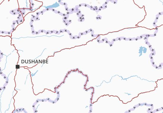 Tojikiston Map