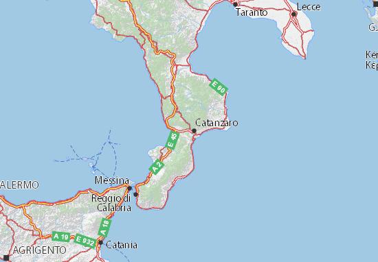 Mappe-Piantine Catanzaro