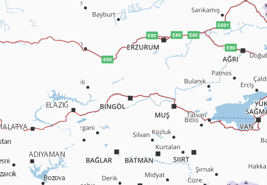 Bingöl Map: Detailed maps for the city of Bingöl - ViaMichelin on map of russia and neighboring countries, map of afghanistan and surrounding countries, map of chernobyl, map of st. moritz, map of san francisco, map of rothenburg, map of stuttgart, map of europe and middle east, map of tyrol, map of switzerland, map of swiss alps, map of atlanta, map of asia, map of la chaux-de-fonds, map of world, map of cambridge, map of fribourg, map of winterthur, map of basel, map of geneva,