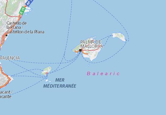 Mapas-Planos Illes Balears