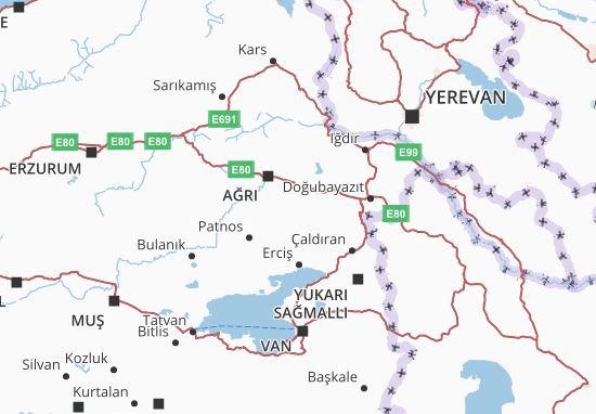 Carte-Plan Ağrı