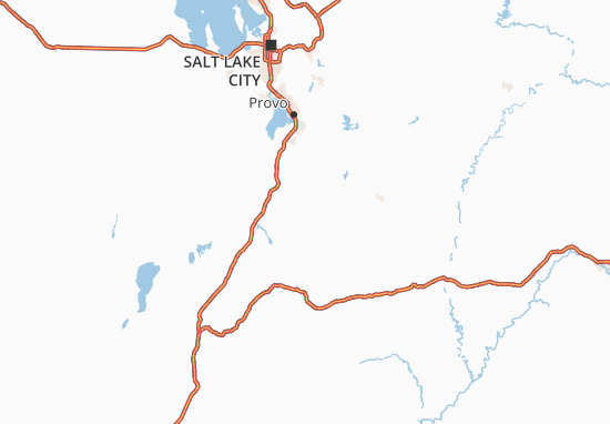 Map of Utah Michelin Utah map ViaMichelin – Tourist Attractions Map In Salt Lake City