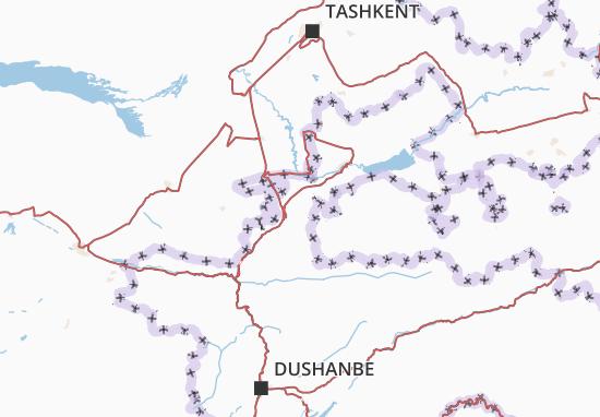 Karte Stadtplan Sughd