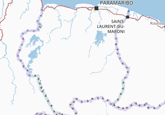 Mappe-Piantine Suriname