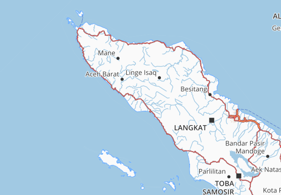 Aceh Map