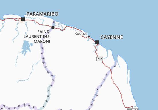 Mappe-Piantine Guyane