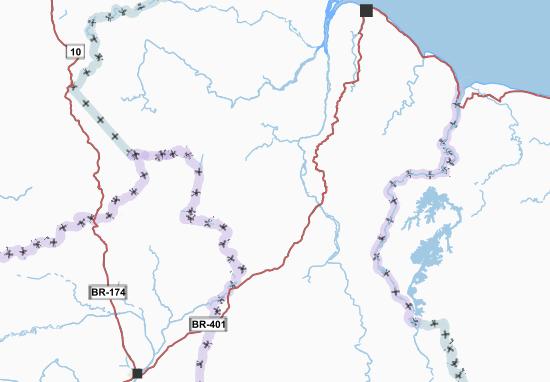Mapa Plano Guyana