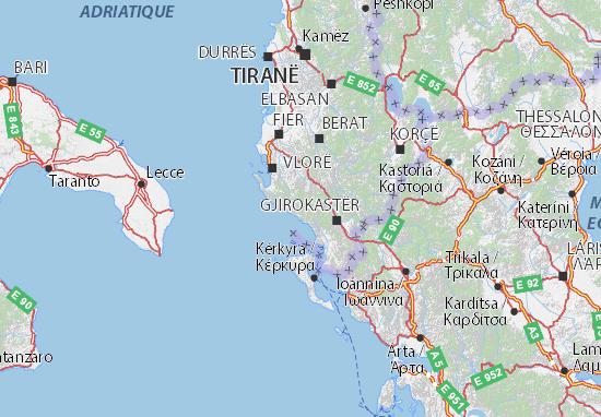 Mapas-Planos Vlorë